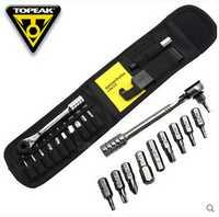 Topeak TT2524 trinquete cohete Lite DX bicicleta hexagonal Torx llave 15 en 1 Kits de herramienta ciclismo herramientas de reparación portátil bicicleta Mini herramienta