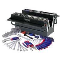 WORKPRO herramienta caja de Metal 183 Unid casa herramienta Mano Kits de herramientas destornilladores pinzas