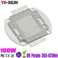 UV LED púrpura integrado 365nm 370nm 375nm 380nm 385nm 390nm 395nm 400nm 405nm 410nm 425nm para SMD lámpara de 100 W