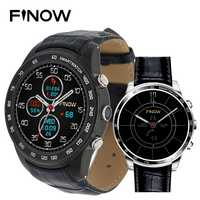 Finow Q7 Plus Smart Watch Android 5.1 con 0.3mp mtk6580 ram512mb rom8gb ayuda 3G Smart wacht WiFi BT 4.0 para teléfono Android