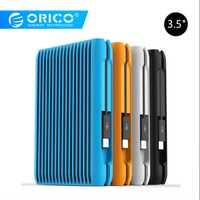 ORICO 2 TB USB3.1 Gen2 TYPE-C 3,5 de 10Gbps alta velocidad a prueba de golpes a prueba de disco duro externo HDD ordenador portátil de escritorio móvil enchufe europeo de disco duro