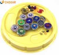 Spin top estadio de fusión metálica 4D Freies fidget spinner lanzador y agarre arena juguete de los niños