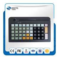 50 Touches Programmables POS Clavier KB50