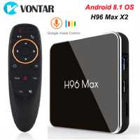 H96 MAX X2 4 GB 32 GB 64 GB Android 8,1 caja de TV S905X2 USB3.0 1080 P H.265 4 K set Top Box Google Play H96MAX reproductor de TV inteligente 2 GB 16 GB