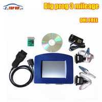 ¡DHL gratis DigiprogIII más digiprog 3 v4.94 4,94 odómetro herramienta digiprog iii nuevo Ver! corrección de kilometraje con interfaz OBD OBD2