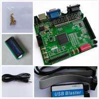 A-C4E10 EP4CE10E22C8N + USB BLASTER + LCD1602 altera fpga board altera placa altera fpga Placa de desarrollo