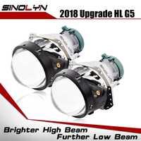 Actualización de linterna del coche de 3,0 pulgadas HID Bi-xenón Hella 3R G5 5 lente reemplazar faro Retrofit DIY D1S D2S D3S D4S