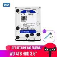 WD Western Digital azul 4 TB Hdd Sata 3,5