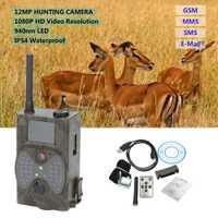 Lixada 940NM exploración cámara de caza HC300M HD GPRS MMS Digital de infrarrojos Cámara sendero GSM IR LED caza de cámara Digital