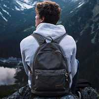 Muzee hombres Retro diseño USB Casual mochila bolsa de lona mochila de moda bolso hombre mochila bolsa de viaje