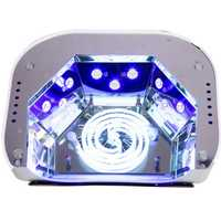 48 W máquina polaco lámpara UV secador de uñas LED lámpara del híbrido para curar Gel de uñas con Sensor automático uñas herramientas de arte