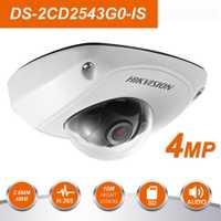 Original HIK DS-2CD2543G0-IS versión internacional 4MP Upgradeable CCTV cámara IP reemplazar DS-2CD2542FWD-IS