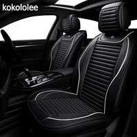KOKOLOLEE pu housse de siège de voiture pour ford focus 2 3/2009/2010/2011/2012/2013 /2014/2015/2016/2017/2018 accessoires de voiture de voiture-style