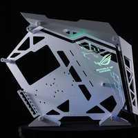 Cougar Conqueror châssis démodé châssis clair buffet déflecteur arc-en-ciel couleur transparent buffet accepter personnalisé bricolage image