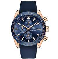 Reloj de cuarzo cronógrafo de esfera azul de diseño PAGANI para hombre relojes deportivos de negocios relojes de lujo de acero inoxidable saat
