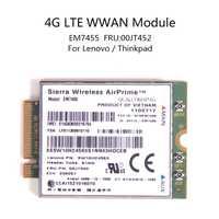 Para Lenovo X260 T460 P50 P70 L560 X1 carbono inalámbrica Sierra Airprime EM7455 QUALCOMM GOBI6000 4G LTE WWAN módulo IBM FRU: 00JT542