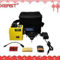 Soporte técnico de XEAST XE-61A 12 línea 360 de nivelación de la línea 3D nivel láser rojo Rayo de bajo precio láser medidor de nivel