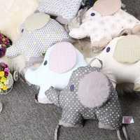 Cama cuna bebé parachoques 6 piezas recién nacido respaldo cojín Animal elefante niño infantil cama alrededor de la protección