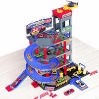 Nuevo traje de estacionamiento aleación coche orbit coche grande juguete coche niño cumpleaños regalo niños juguetes para niños mejores regalos oyuncak araba diecast lps