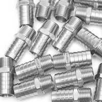 Producción de barra de ajuste de acero inoxidable 316 acoplador de ajuste de púa/conector de manguera de 3/4