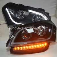 Para KIA Soul LED Ojos de Ángel la cabeza de la lámpara 2008-2011 Año JY
