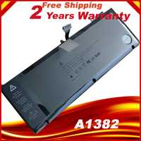 A1382 Batterie Pour Apple macbook pro a1286 15.4 pouces tôt 2011 intel core i7 ordinateurs portables