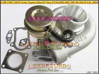 CT26 17201-74010 Turbo 1720174010 turbocompresor para TOYOTA Celica GT cuatro ST165 MR2 4WD 1987-1989 3 SGTE 3S-GTE 3SG-TE 2.0L 185HP