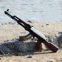 Nuevo AK47 juguete eléctrico de juguete pistola de agua bala ráfagas arma al aire libre en directo/Live CS Manual de agua pistola Rifle pistola juguetes de regalo para niños