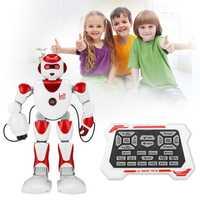 Inteligente Alpha RC Robot programación inteligente humanoide RC juguetes Robot K2 Demo cantando Robot chico Robots de juguete