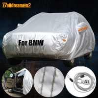 Construcdreamen2 bâche de voiture complète soleil neige pluie éraflure Protection contre la poussière Auto couverture étanche pour BMW 1 3 5 7 M série X1 X3 X4 X5 X6