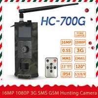 16MP 1080 P 2/3G SMS GSM Cámara sendero caza Cámara al aire libre de la vida silvestre cámara de exploración con PIR sensor de infrarrojos de visión nocturna