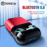 TWS auriculares inalámbricos auriculares Bluetooth auricular estéreo Auriculares auriculares para teléfono con caja de carga auriculares Bluetooth