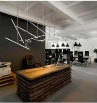 Norte de Europa moderna creativa Bar recepción para la tienda oficina del Hotel ingeniería lámpara luz moda