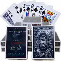 10 sets cartas propietarios Poker papel
