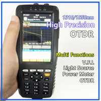 Réflectomètre optique de domaine de temps d'appareil de contrôle d'otdr de haute précision 4 dans 1 OPM OLS VFL Instrument optique de gamme de 3 m à 60 km