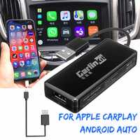 Carlinkit USB coche inteligente enlace Dongle para Android navegación del coche para Apple Carplay para Auto teléfono inteligente USB Carplay adaptador
