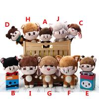 PCMOS KPOP Shinee muñecos de peluche uno Jonghyun] Clave Min Ho juguetes Taemin Animal muñeca de juguete para los niños de las mujeres regalo