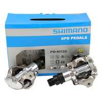 Shimano m520 clipless SPD MTB Pedales mountain bike Trail doble cara SPD Pedales
