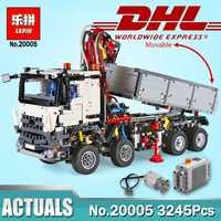 3245 piezas educativos 20005 el legoinglys técnica 42023 Arocs modelo bloques de construcción ladrillos juguetes Compatible Legoings niños juguete de regalo