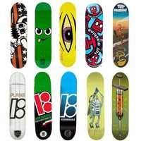 EE. UU. marca Pro Skateboard 8 8.125 de 8,25 pulgadas de arce canadiense doble de madera basculante Skate cubiertas Patins de la calle Skate