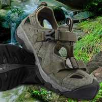 2018 aguas arriba Aqua zapatos de los hombres de verano ligero secado rápido playa zapatos PU agua sandalias para hombre al aire libre de amortiguación agua zapatilla de deporte