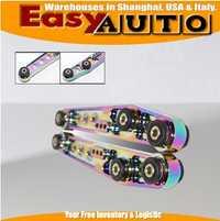 Brazos de control inferiores para Honda Civic 92-95 EG 1990-2001 para Acura integra neón cromo