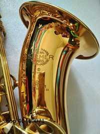 Nuevo saxofón tenor Bb Francia SELMER modelo 802 saxo tenor oro Saxopfone instrumentos musicales perfecto regalo de embalaje de forma de envío