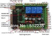 Placa de interfaz MACH3 placa de interfaz DIY CNC 6-eje Placa de adaptación PWM del husillo