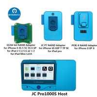 Outil de réparation d'erreur de lecture en série JC Pro1000S JC P7 PCIE NAND programmeur HDD pour iPhone XS Max 8X7 7 P 6 6 S Plus tous les iPad