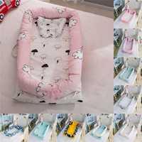 Cama de bebé extraíble lavable cuna biónica recién nacido multifunción para el cuidado del bebé cama de bebé plegable