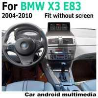 Reproductor Multimedia de pantalla táctil Android para coche navegación estéreo GPS para BMW X3 E83 2004 ~ 2010 medios de Radio de Audio 2 Din WiFi