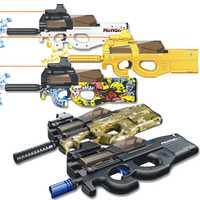 P90 jouet pistolet assaut Sniper arme eau balle pistolet en plein air en direct CS jeu électrique rafales Paintball pistolet jouets pour enfants