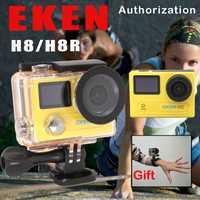 EKEN H8/H8R Ultra HD 4 K Cámara de Acción WIFI 1080 p/60fps 720 p/120FPS Mini cámara 30 m impermeable casco deporte DVR ir extrema Pro Cam