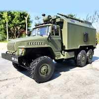 WPL B36 Ural 1/16 2.4G 6WD RC Voiture Militaire Camion Rock Crawler Commandement Communication Véhicule RTR Jouet Auto Armée camions